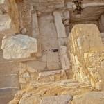 Kaple Chentkausiny hrobky, © Martin Frouz, Archiv Českého egyptologického ústavu FF UK