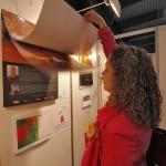 Prezentace vystavených kalendářů na výstavišti v Letňanech (oceněný kalendář, ©foto.: Martina Frouz V. a Martin Frouz).