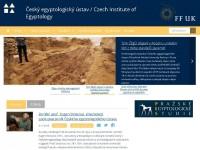 Nový web Českého egyptologického ústavu