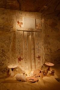 Obetiny v Neferovej hrobke z 5. dynastie (Martin Frouz)