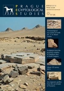 Prague Egyptological Studies XVII/2016 cover
