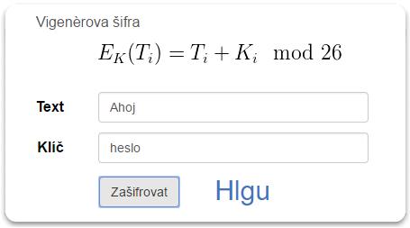 Klasické šifry