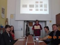 Na KJBS hostovala doc. Mila Krasteva, Ph.D. z Plovdivské univerzity Pajisije Hilendarského (Bulharsko) 9.5.2016 .