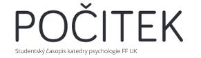 casopis katedry psychologie