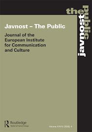 generická obálka časopisu Javnost