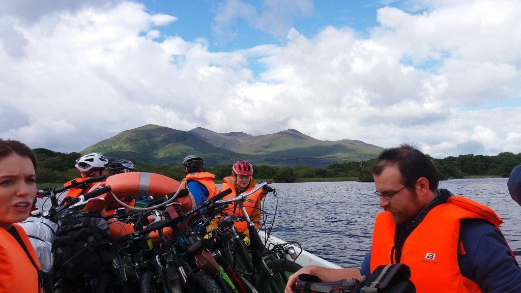 14 – lodí pres 3 jezera – NP Killarney