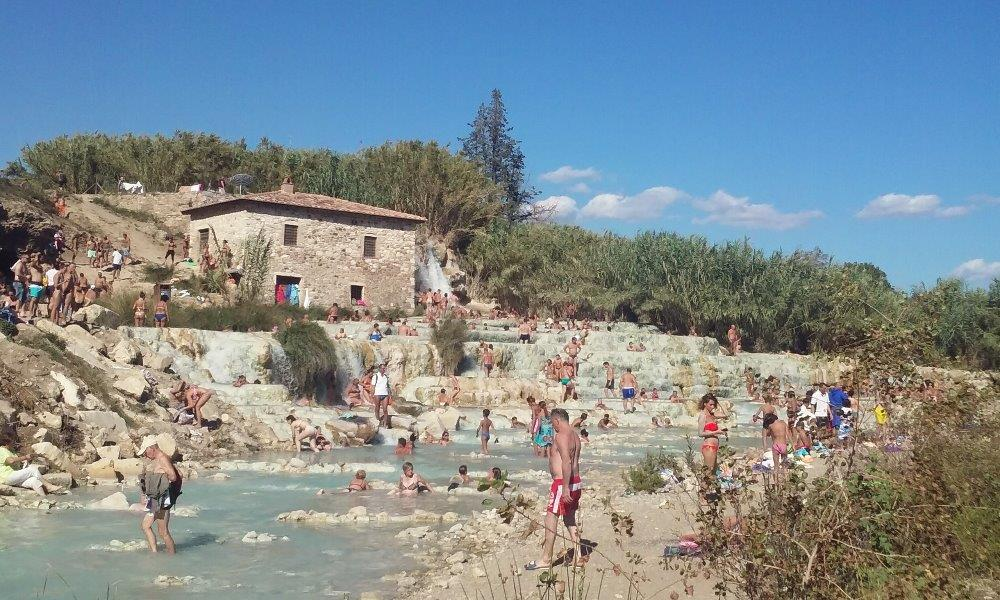 Solné lázně Terme di Saturnia