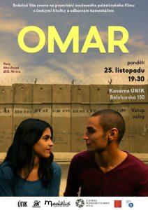 Omar - promítání palestinského filmu