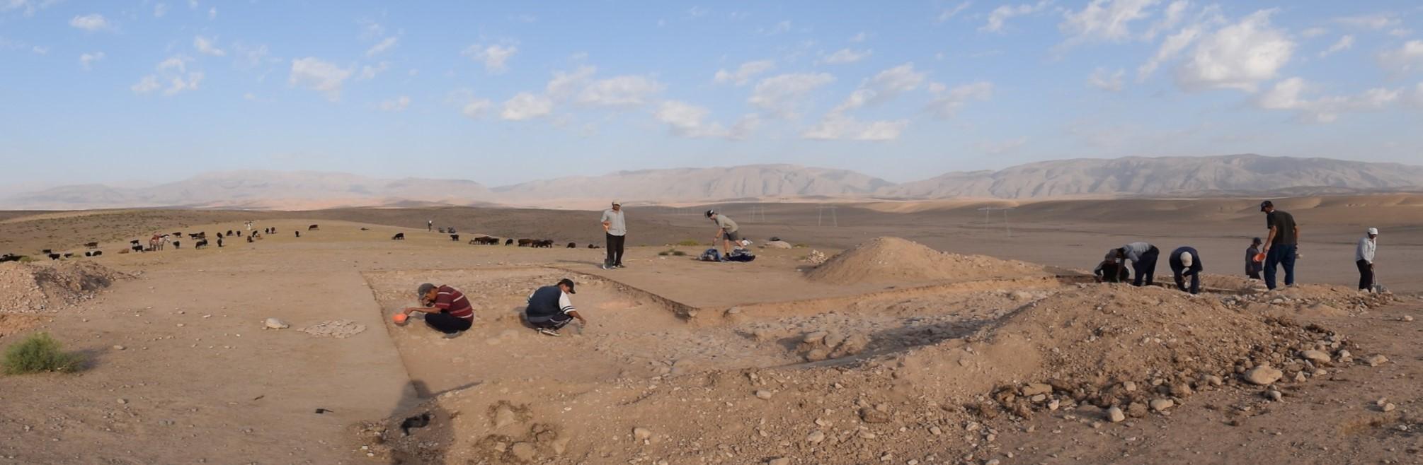 Výzkum lokality Iskandartepa
