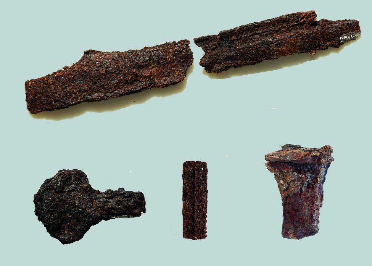 Fig. 3_Nálezy zo svätyne Apolóna v Didyma, Turecko