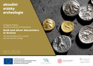 Panagiotis Tselekas: Gold and silver Alexanders in Greece. The hoard evidence for a century old international coinage @ FF UK, Room C049 | Hlavní město Praha | Česko