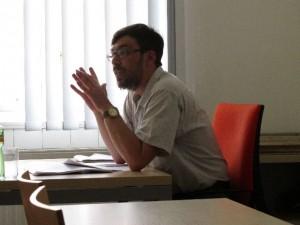 10. května 2012 se na půdě UVES uskutečnila přednáška docenta Moskevské státní univerzity Vladimira Leonidoviče Korovina 2