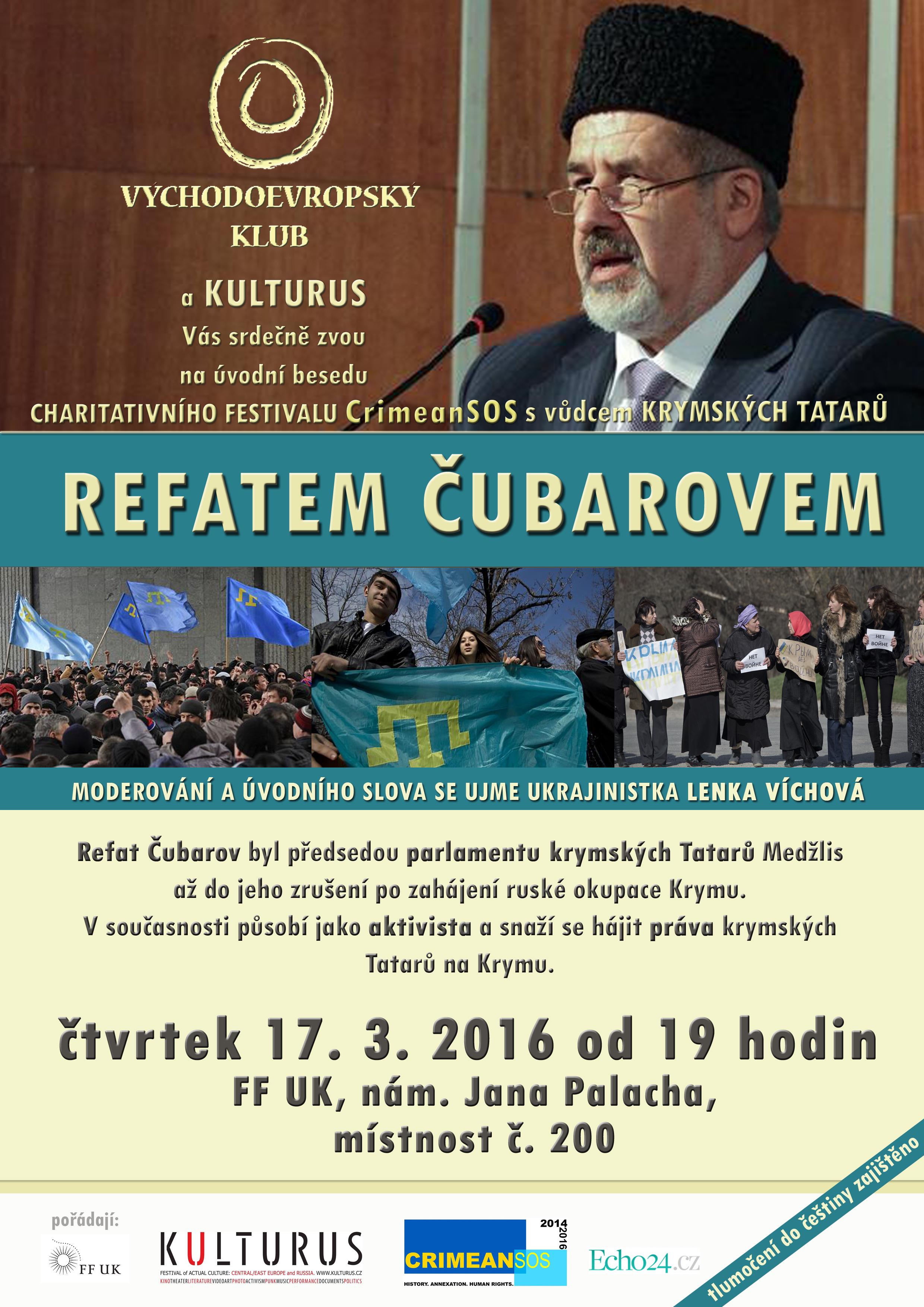 vůdce krymských Tatarů Refat Čubarov