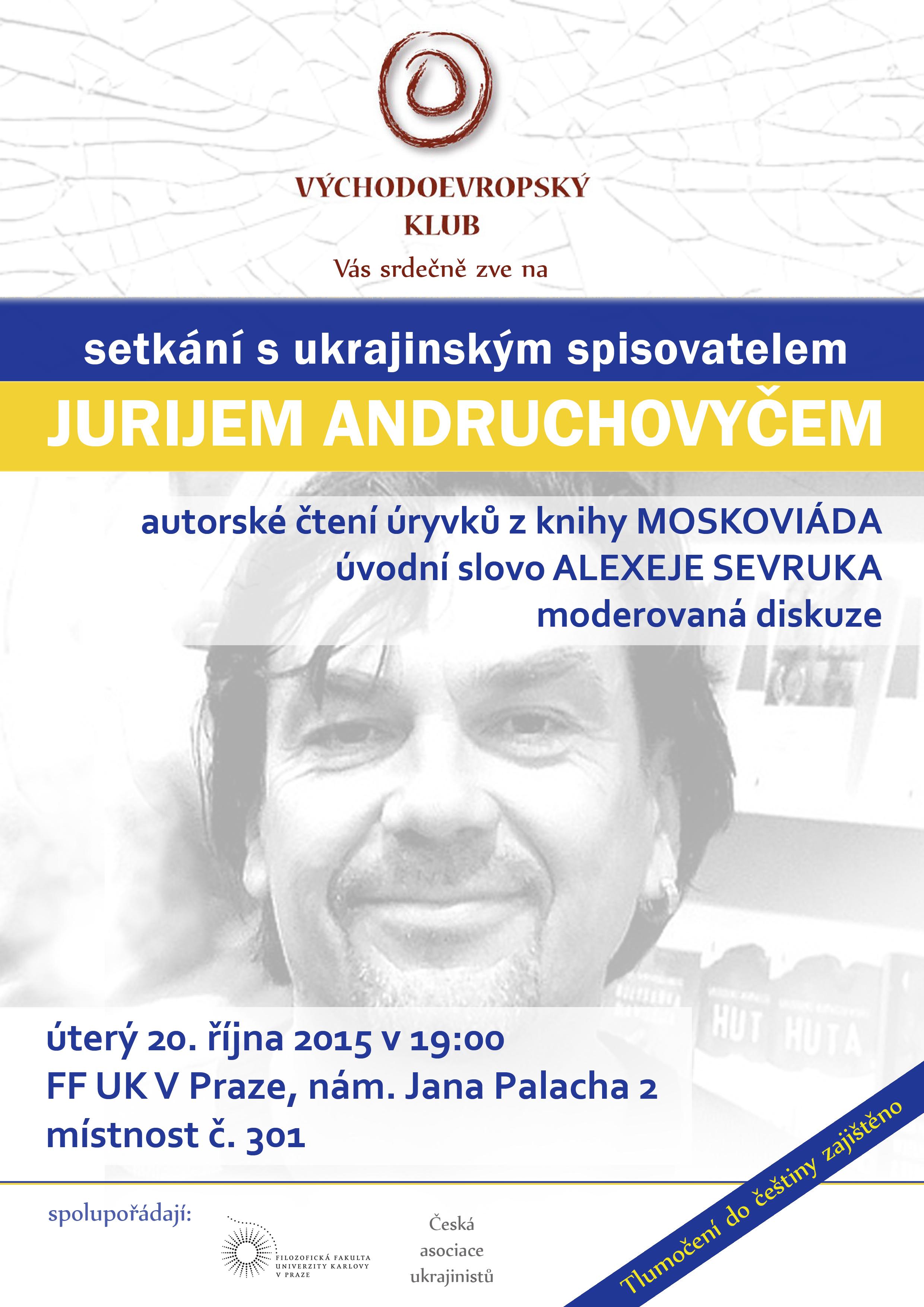 spisovatel Juryj Andruchovyč