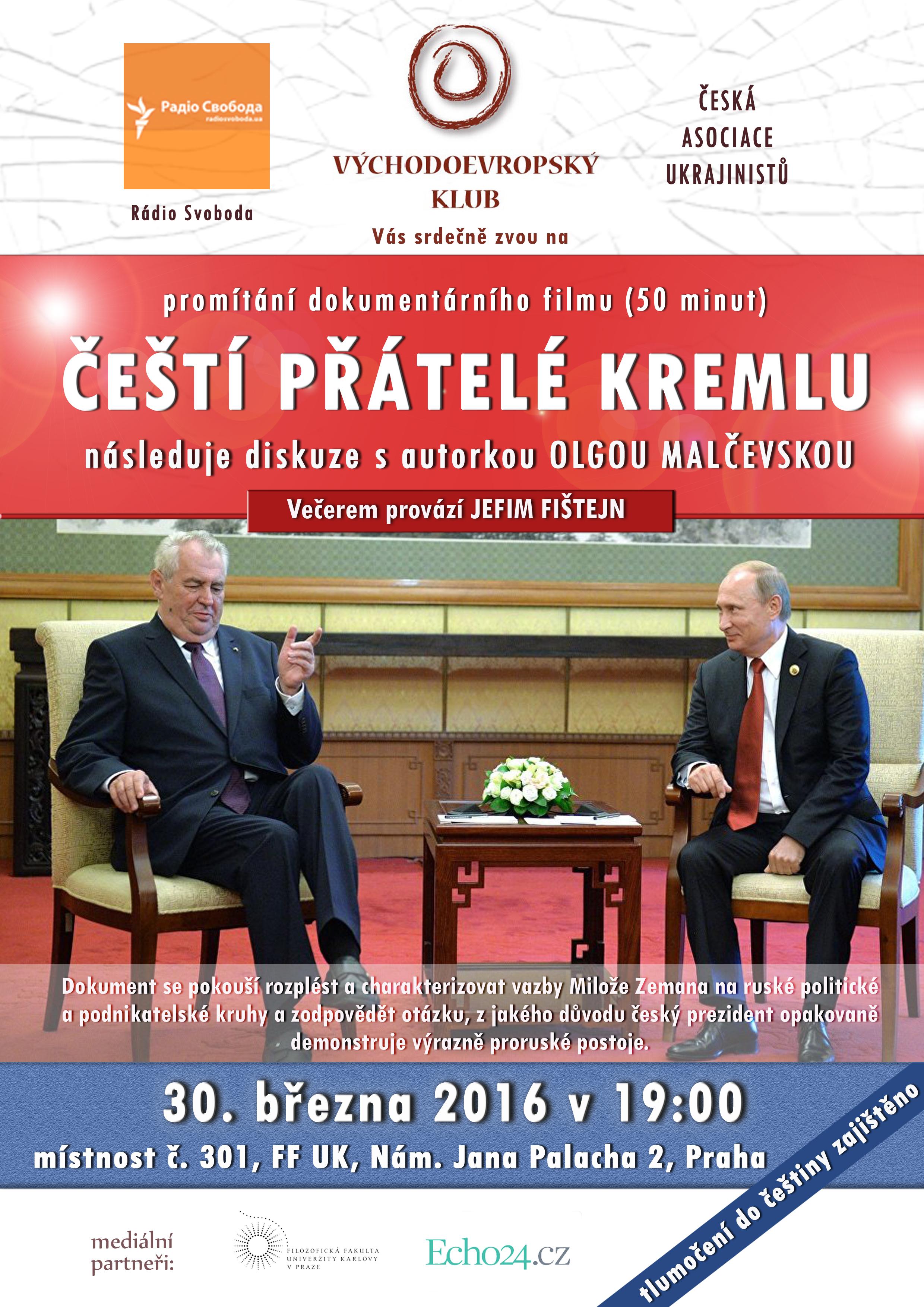 Čeští přátelé Kremlu